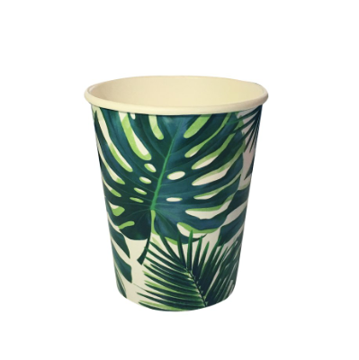 palm leaf cups