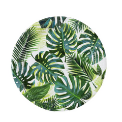 talking tables palm leaf plates large