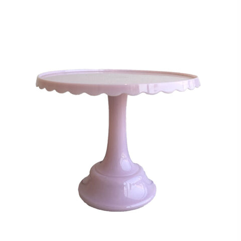 pink acrylic cake stand
