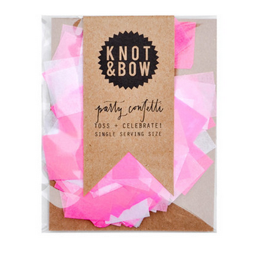 pink party mix confetti
