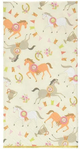 pony party napkins