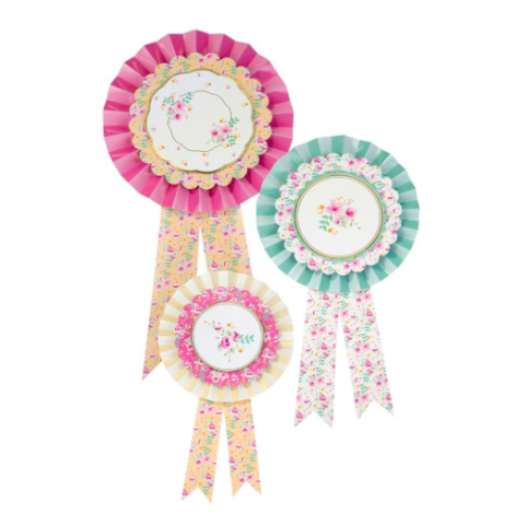 pony party rosettes