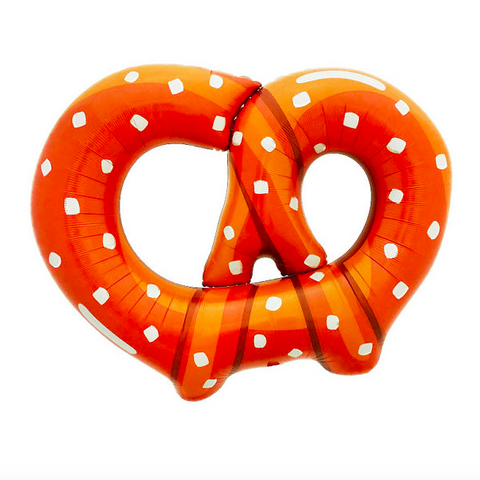 Pretzel mylar balloon - 41 inches