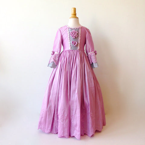 Marie Antoinette purple dress