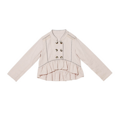 romantic ruffles jacket