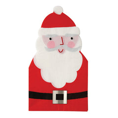 meri meri cut-out santa guest napkins