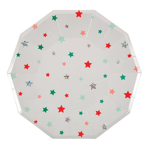 star pattern large plates