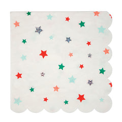 meri meri star large napkins