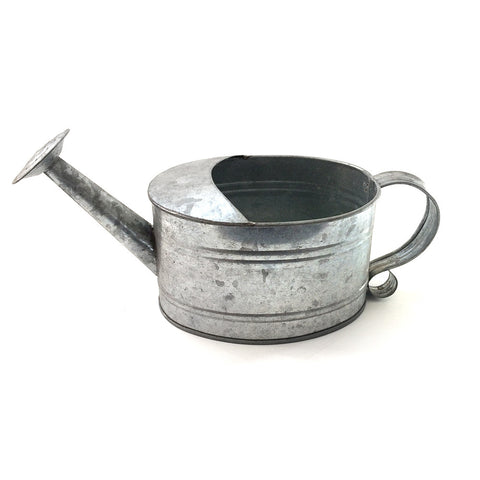 small steel pitcher