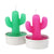 Cactus tea light candle 6 set