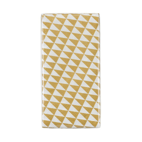 geo party narrow napkins