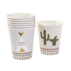 talking tables pow wow party paper cups