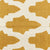 large gold printed pattern rug