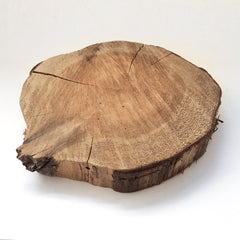 large birch wood platter