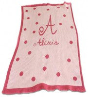 Large Polka Dots and Border