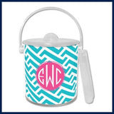 Dabney Lee Monogram Ice Bucket
