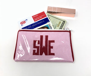 Flat Zipper Wallet