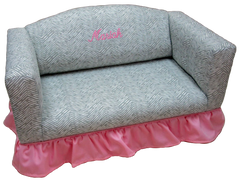 Sofa With Ruffled Skirt