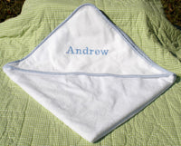 Hooded Towel With Monogram