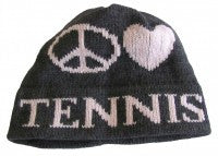 Peace Love Tennis Hat
