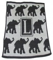 Walking Elephants Stroller Blanket