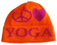 Peace Love Yoga Hat with Name
