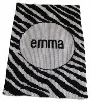 Zebra Stripes Stroller Blanket
