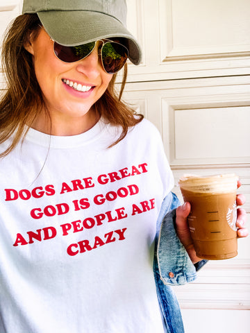 Dogs are Great-Short Sleeve Shirt - Treat Dreams