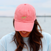 Molly Pigment Dyed Coral Hat