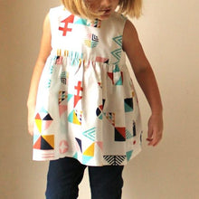 Load image into Gallery viewer, Made by Rae - Geranium Dress - Sizes Newborn-5T (Baby/Toddler)