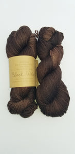 Lichen and Lace - 80/20 Sock - Black Walnut