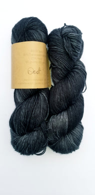 Lichen and Lace - 80/20 Sock - Soot