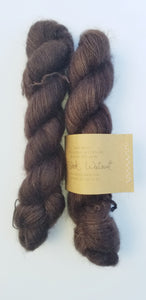 Lichen and Lace -  Marsh Mohair - Black Walnut