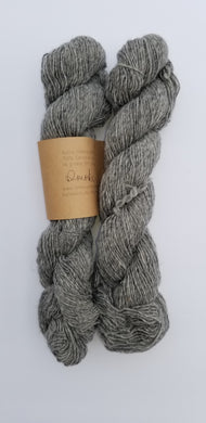 Lichen and Lace - Rustic Heather Sport - Smoke