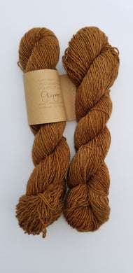 Lichen and Lace - Rustic Heather Sport - Ginger