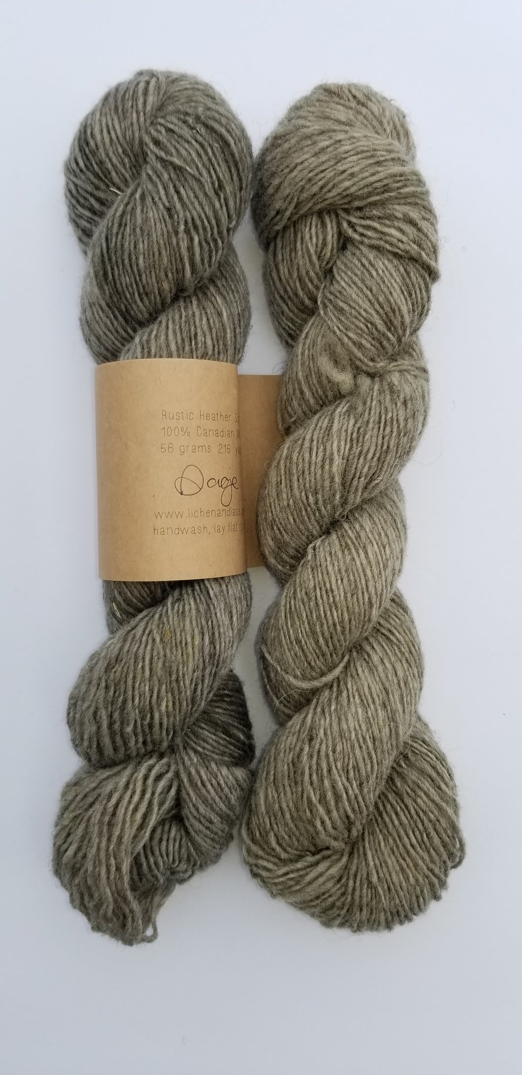 Lichen and Lace - Rustic Heather Sport - Sage