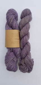 Lichen and Lace - Rustic Heather Sport - Lavender