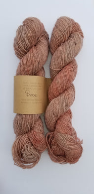 Lichen and Lace - Rustic Heather Sport - Rose