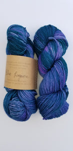 Lichen and Lace - Worsted - Blue Lagoon