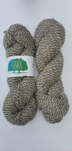 Twin Oaks - Worsted 2 Ply - Marled Grey