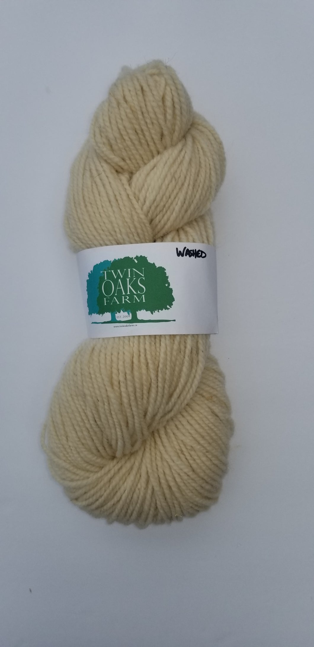 Twin Oaks - Worsted 2 Ply - Cream