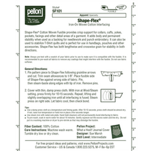 Load image into Gallery viewer, Shape-Flex Woven Fusible Interfacing (White) - Pellon SF101