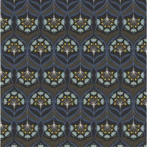 Jardin De Lis - Black - Metallic