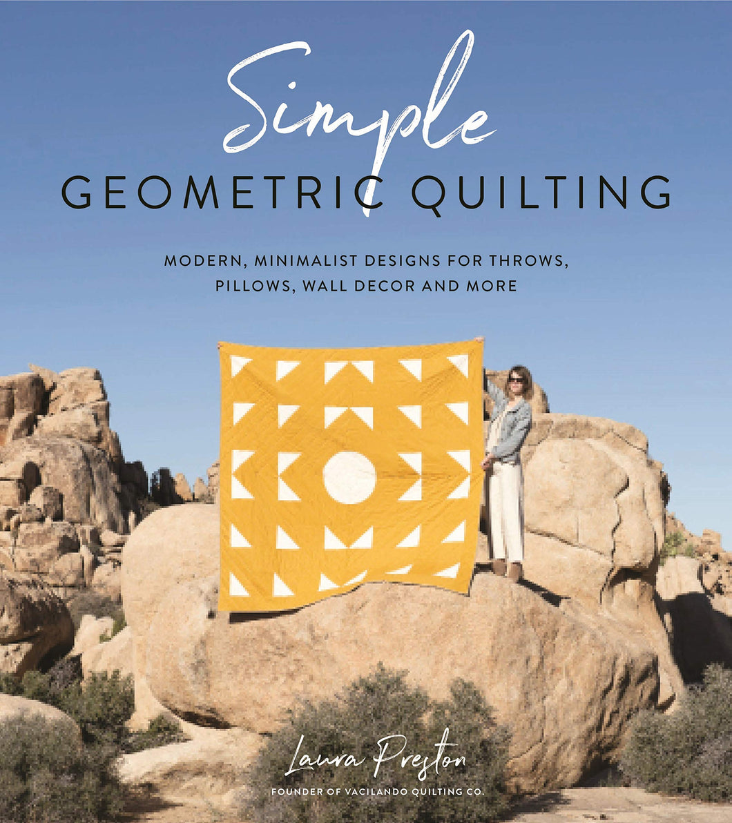 Pattern Book - Simple Geometric Quilting