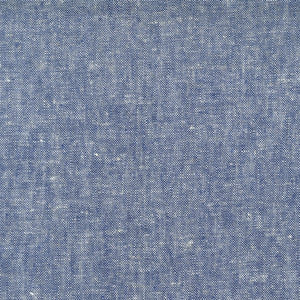 Brussels Washer Linen Yarn Dye - Denim