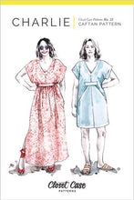 Load image into Gallery viewer, Closet Case Patterns - CHARLIE Caftan No. 12