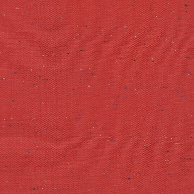 Essex Linen/Cotton/Polyester - Speckle Yarn Dyed Red