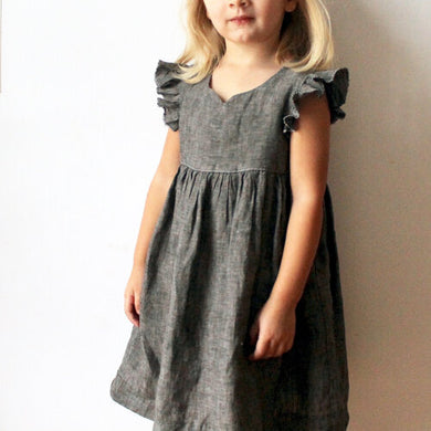 Made by Rae - Geranium Dress - Sizes 6 -12 (Kids)