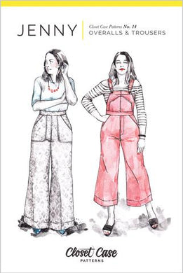 Closet Core Patterns - JENNY Overalls & Trousers No. 14