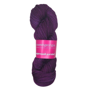Sweet Georgia - Superwash Worsted - Grape Jelly